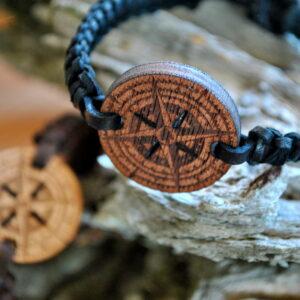 Bracelet Wooden – Rose