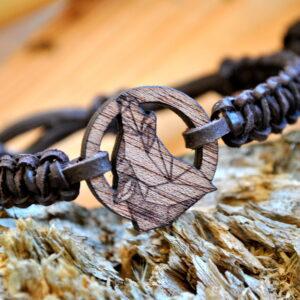 Bracelet Wooden – Wolf